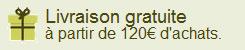 Chronopost 10€ offert dès 120€ d'achats