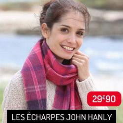 Echarpe lambswool John Hanly