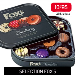 Sélection Chocolat de Fox's