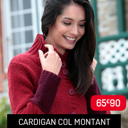 Cardigan rouge Out of Ireland