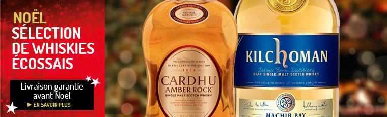 Noël, les whiskies écossais