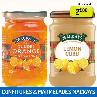 Confitures et marmelades Mackays