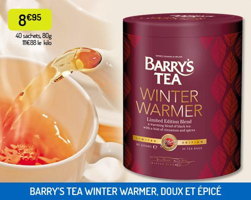Le thé Winter Warmer de Barry's Tea