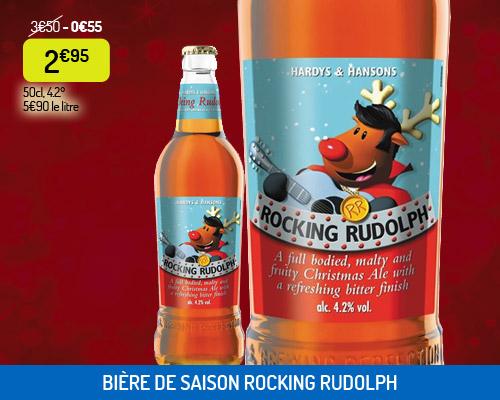 Bière de saison hiver Rocking Rudolph