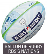 Ballon de rugby RBS 6 Nations