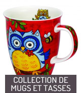 Collection de mugs et tasses