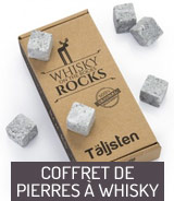 Coffret de pierres à whisky