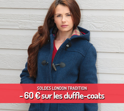 Soldes duffle-coats London Tradition