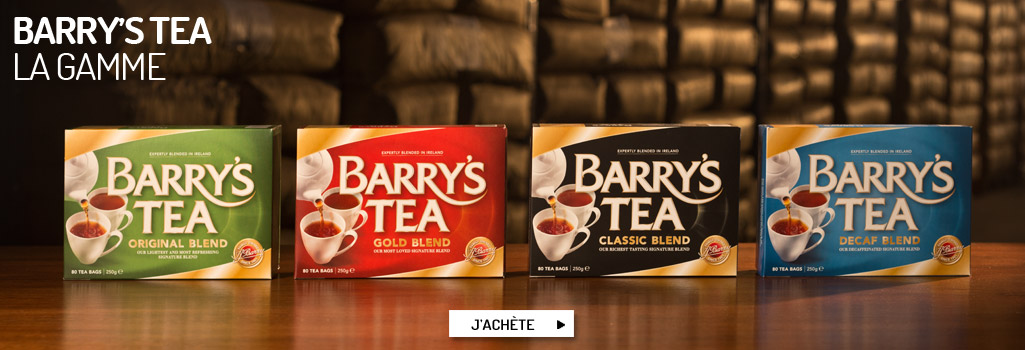 Barry's Tea, la gamme