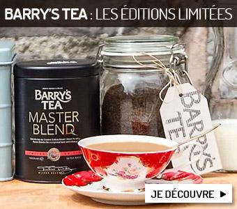 Barry's Tea : les éditions limitées
