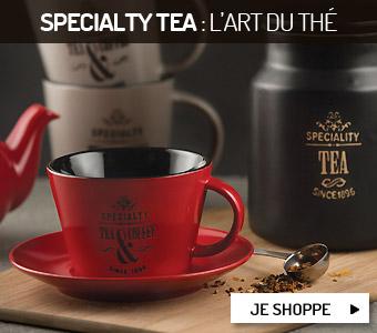 Specialty Tea : l'art du thé