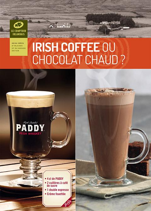 Irish Coffee ou Chocolat chaud ?
