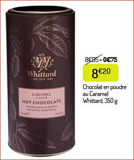 Chocolat en poudre Whittard