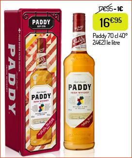 Whiskey irlandais Paddy