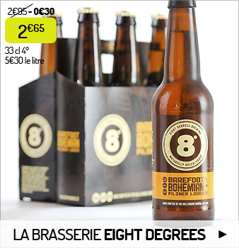 La brasserie Eight Degrees
