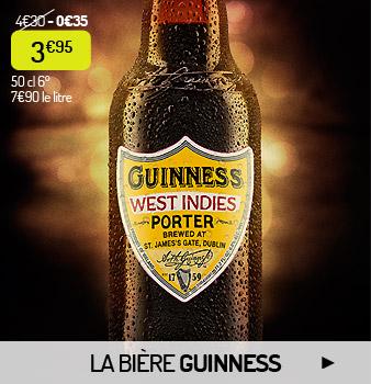 Les bières Guinness