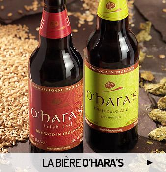 Les bières O'Hara's