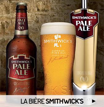 Les bières Smithwick's
