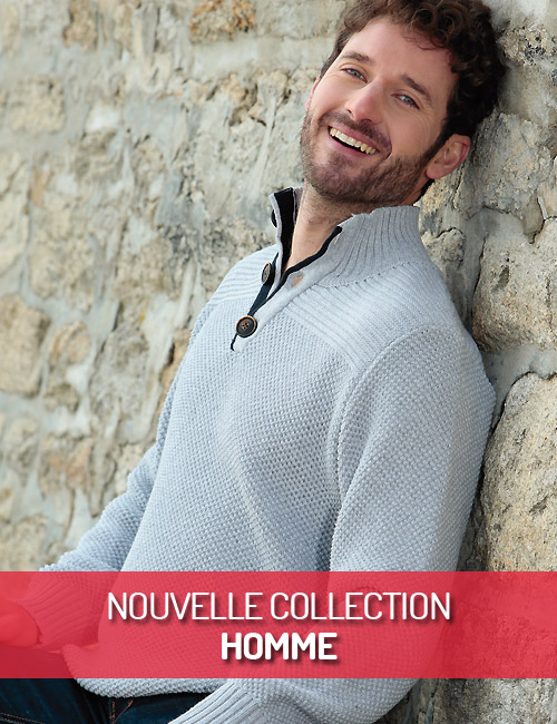 Nouvelle Collection Homme