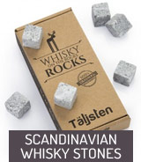 Scandinavian whisky stones
