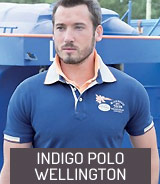 Indigo Polo Wellington