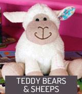 Teddy bears and sheeps