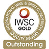 "Or ""Gold Outstanding"" - International Wine & Spirit Competition"