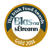 The Irish Food Awards - Médaille d'Or 2014
