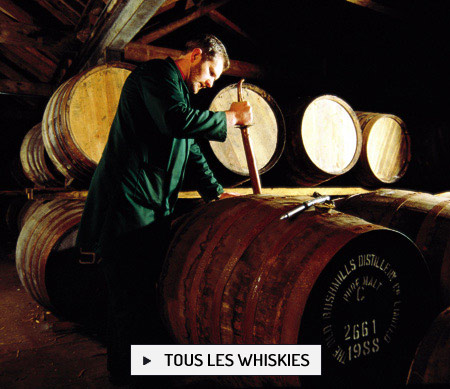 Au coeur de la distillerie