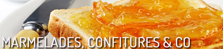 Marmelades, confitures & co.