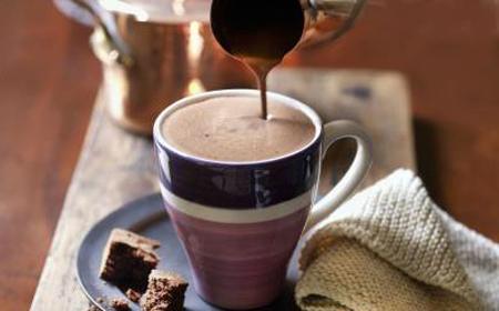 Préparation pour chocolat chaud