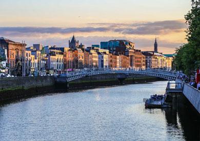 Dublin - Ha'penny Bridge