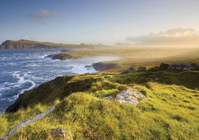 "La côte de Kerry ""Ring of Kerry"""