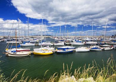 Dun Laoghaire Harbour, Comté de Dublin