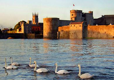 Château de King John, Limerick, Irlande