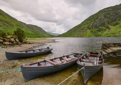 Doolough Pass, comté de Mayo, Irlande