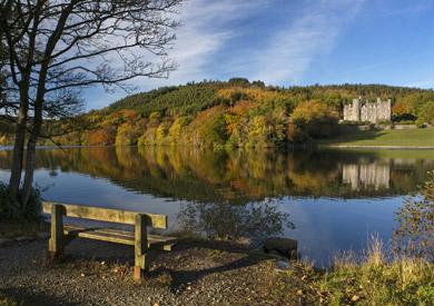 Lac Castlewellan, comté de Down, Irlande
