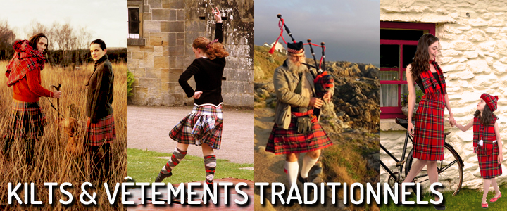 Kilts et vêtements traditionnels