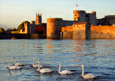 King John's Castle, Limerick, Irlande