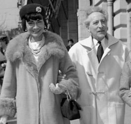 Jean Cocteau & Coco Chanel