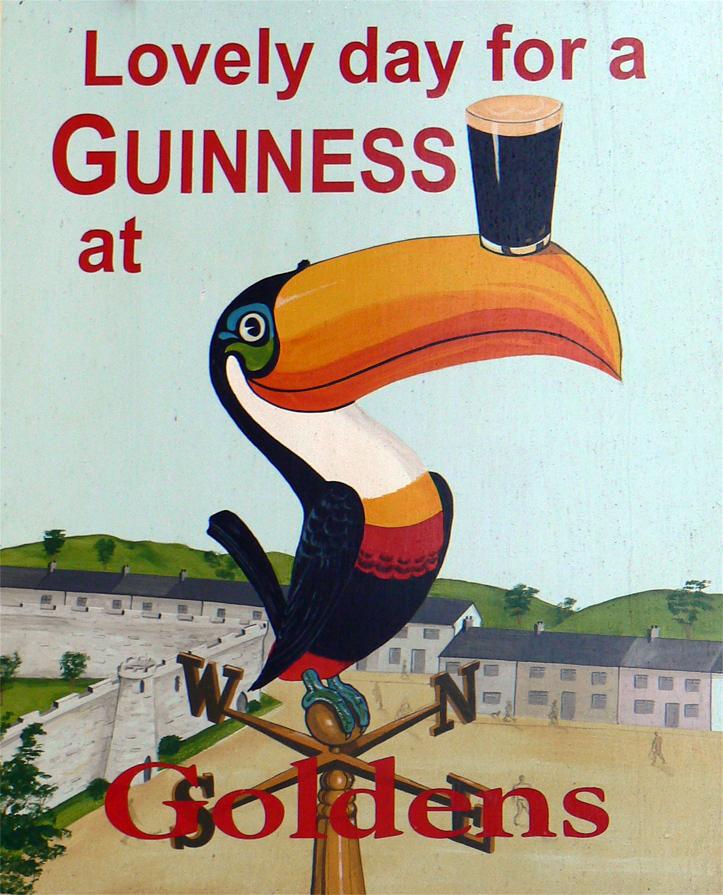 Guinness Poster Toucan