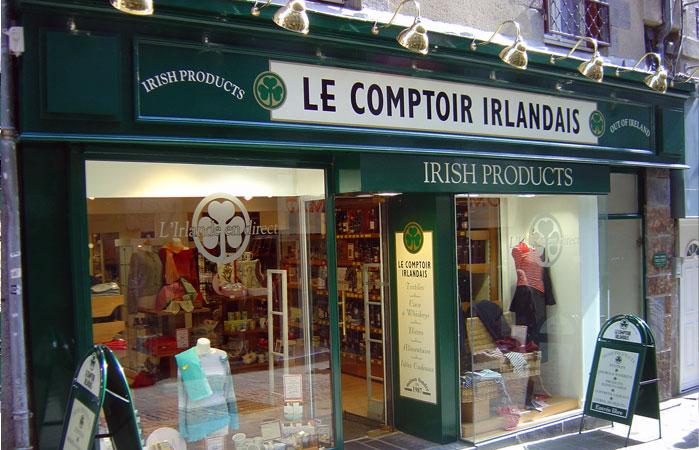 Le Comptoir Irlandais de Saint-Brieuc