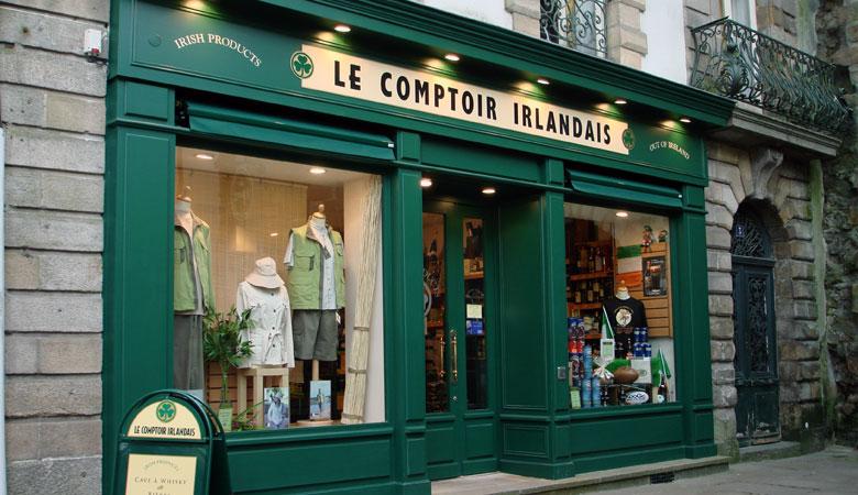Vannes le comptoir irlandais - Comptoir metallurgique de bretagne vannes ...
