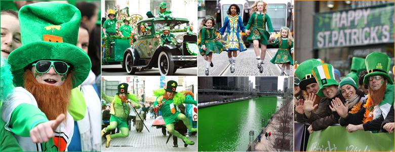 La Saint Patrick fêtée dans le monde entier !