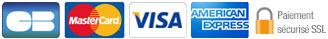 Carte bleue - Visa - MasterCard - American Express