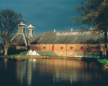 La distillerie Bushmills