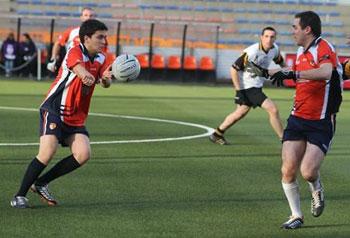 Action football gaélique