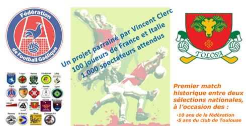 Affiche Tournoi de Football Gaélique