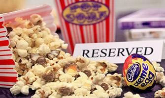 Popcorn aux oeufs Cadbury