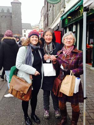 Visite du marché de Galway